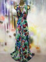 Wallis MAXI FULL LENGTH evening/occasion DRESS Size 16-18 wedding/cruise/races