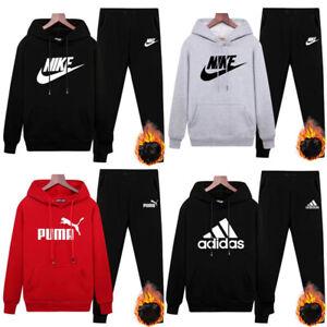 Womens Mens Sports Sweatshirts Hoodies Pants jogging Tracksuits Gym Loungewear