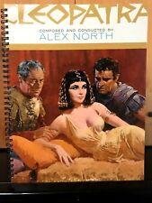 for the Cleopatra 1963 Elizabeth Taylor, Richard Burton FAN Album Cover Notebook