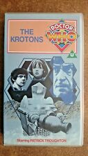 Doctor Who - The Krotons (VHS/H, 1995) - Patrick Troughton