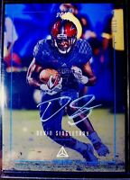Devin Singletary ROOKIE 2019 Luminance Autograph Silver Ink RC SSP Buffalo Bills