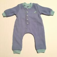 American Girl Bitty Baby Blue One-piece Pajamas (A01-21)