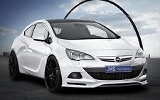 JMS racelook Front alerón labio para Opel Astra J GTC Coupe