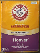Hoover Y & Z - Arm & Hammer Odor Eliminating Vacuum Replacement (3) Bags - New