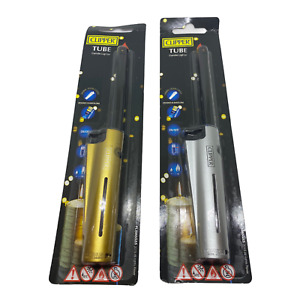 A Pack of Clipper Tube Refillable Long Reach Nose Gas Lighter Perfect for Candle