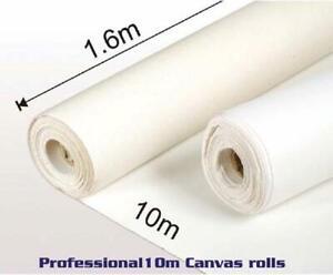 Rotolo tela per dipingere in Cotone 100% Trama media  Olio-Acrilico-Temprera