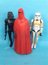 "STAR WARS  6""  Red Royal Guard + white+ black Stormtrooper loose CUSTOM  KO"