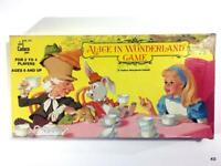 Rare Vintage ALICE in WONDERLAND 1984 Board Game by Cadaco 100% Complete