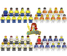 Custom LEGO Minifigure 1930-2018 World Cup Champions & Major Teams Brazil More