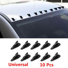 Car Roof Spoiler Shark Fin Wing Trunk Vortex Generator 10pcs for EVO WRX Racing