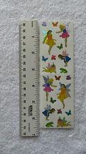Mrs Grossman SPARKLE FAIRIES - Stickers of Fairies Butterflies Frogs Flowers