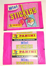 MINI STICKERS 80s Panini Italy - sticker pack  - bustina figurine