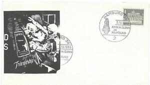 5/10/65 John Glenn & Friendship Hamburg Germany Posted Cover