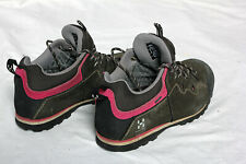 Haglofs Vertigo Q GT-2 Walking Shoes Grey Pink Women's Size UK 5 EU 38 VGC!