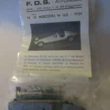 FDS Kit in 1:43 Mercedes W 163 - 1939