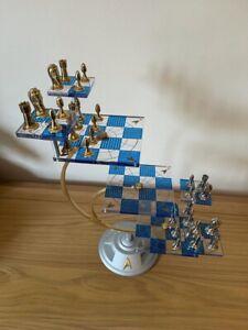 Star Trek 3D Franklin Mint Chess Set