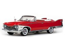 1960 Plymouth Fury Open Convertible Valiant Red 118 Scale By Sunstar 5402