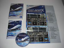 PMDG 747-400 X QUEEN OF THE SKIES Pc Cd Rom Add-On Flight Simulator X  FSX FS