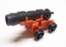PLAYMOBIL (A3445)  PIRATES - Canon avec Roues Noires pour Bateaux 3053 3550 3750