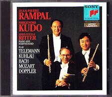 Jean-Pierre Rampal, Shigenori Kudo Bach Doppler Kuhlau Mozart Telemann cavalieri CD