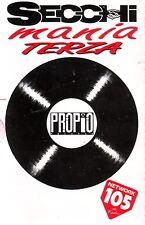 SECCHI MANIA TERZA (1995) MC TAPE NUOVA, SENZA CELOFAN RARA
