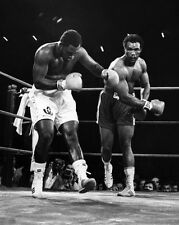 1973 Boxing JOE FRAZIER vs GEORGE FOREMAN Glossy 8x10 Photo Title Fight Poster
