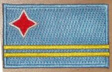 ARUBA Country Flag Embroidered PATCH