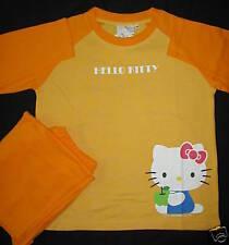 Hello Kitty Pajama Top Long Pants Lounge  T shirt Set NWT Sleepwear Girl Sz 130