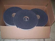 "24 Rolls  Rv Home Gaska Tape Foam Seal Insulating Tape 1/2"" Thick x 1"" W x 25' L"