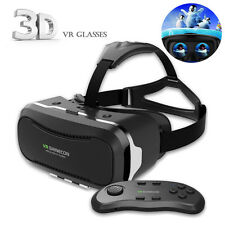 VR Shinecon 2.0 Virtual Reality Headset 3D Movies Games Video Glasses+Controller
