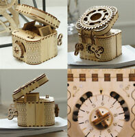 ROKR Assembly Model Building Kits Mechanical Gear Toy Handmade Crafts STEM Toy