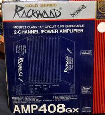 2 Channel Car Audio Amplifiers Rockwood Amp 408Gx 175 X 2 channel Bridgeable