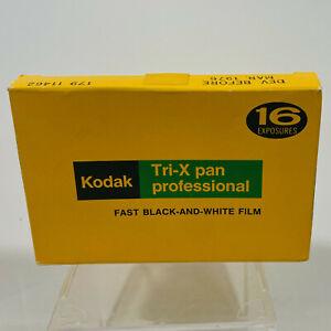 NIB Kodak Tri-X Pan Professional TPX 520 Fast B & W Film Pack 1976 EXPIRED