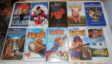 Huge VHS lot of 10 Family Live Action Disney Movies Tapes Air Bud Gordy