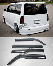 For 04-06 Toyota bB Scion xB JDM Mugen Style Door Window Rain Guard Visor Kit