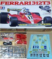 Tamiya 1/20 Ferrari 312T3 Grand Prix Collection No.10 Display Model Kit Boxed