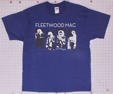 Fleetwood Mac On Tour 2003 Navy XL T-Shirt Cities on back