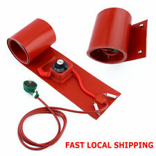200L/55Gallon 1000W 110V Silicon Rubber Band Heater for Metal Oil Drum Heating