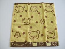NEW!! Rilakkuma Kawaii Hand Towel/35×35cm/Yellow
