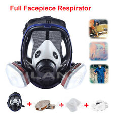 15 in1 Face Shield Full Face Gas Masked Facepiece Respirator Painting Spraying