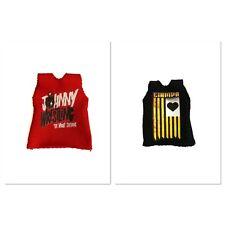 WWE NXT Tommaso Ciampa & Johnny Gargano Custom Shirts For Mattel Figures.