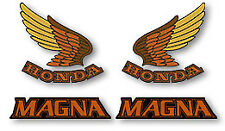 85-86 Honda VF700C MAGNA Decal Set Fuel Gas Tank Side Cover Decals RED/BLK