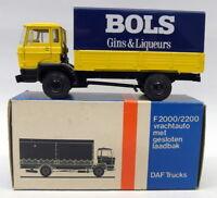 Lion Car 1/50 Scale Nr.43 DAF Covered Truck BOLS Gins Model Truck