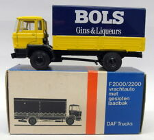 Lion Car 1/50 Scale Nr.43 DAF Covered Truck BOLS Gins Model Truck
