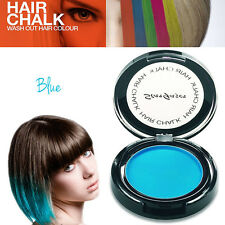 Stargazer - UV Glow Neon Temporary Hair Chalk Instant Washout Rave Festival Blue