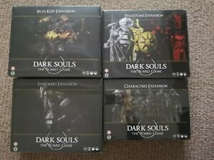 Dark Souls Board Game Expansions Iron keep explorers Phantoms Characters sealed