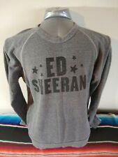 Ed Sheeran Grey Crewneck Sweatshirt Large Gray Star