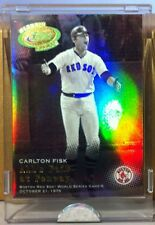 2005 ETOPPS IN HAND CARLTON FISK ALL'S FAIR AT FENWAY BOSTON RED SOX 1975 WS