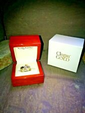 Clogau 18ct White and yellow Gold diamond tree of life Ring