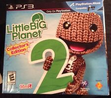 Little Big Planet 2 Collectors Edition No Game Special LBP Littlebigplanet